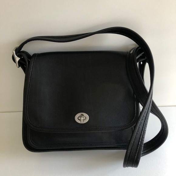 Coach Handbags - Coach Black Legacy Rambler No. 9061